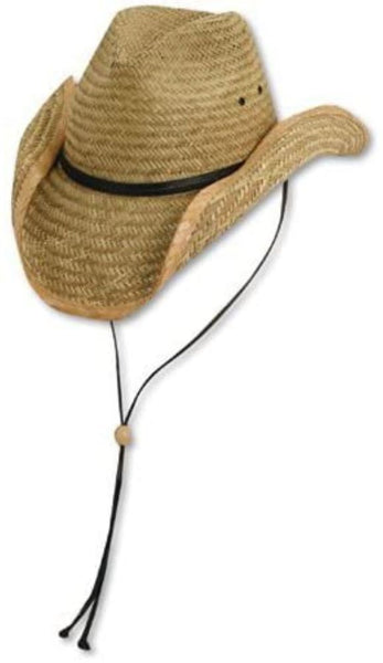 Dorfman Pacific Mens Outback Rush Straw Hat