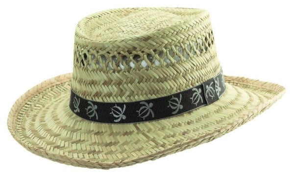 Dorfman Pacific Gambler Rush Straw Hat  L/XL