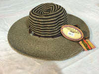 Elegant Wide Brimmed Sun Hat by Scala