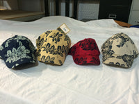 Dorfman Pacific Mens Adjustable Hawaiin Print Baseball Cap