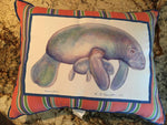 Pillows Betsey Drake Manatee