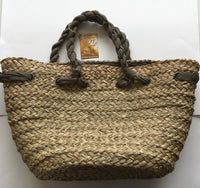 Natural Woven Beach Tote from Sun N Sand