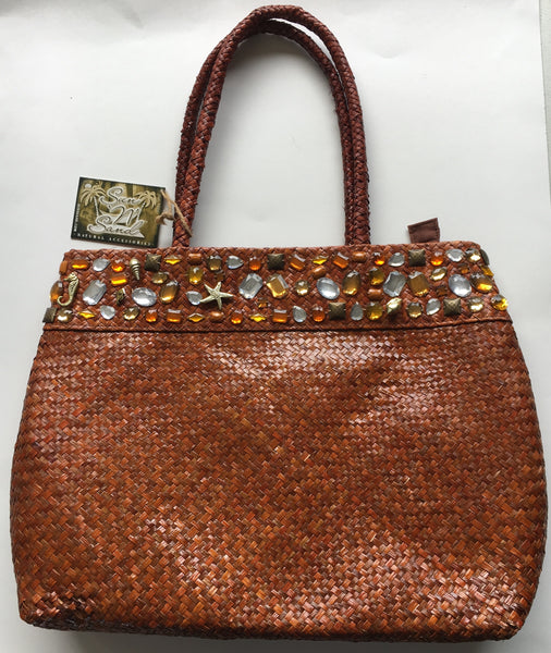 Large High Quality Crystal Bay Shoulder Beach Tote by Sun N Sand