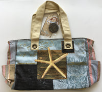 Medium Starfish Tote by Paul Brent for Sun N Sand