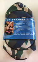 Beach Pillow Sun Dreamer Beach Pillow (Camo)