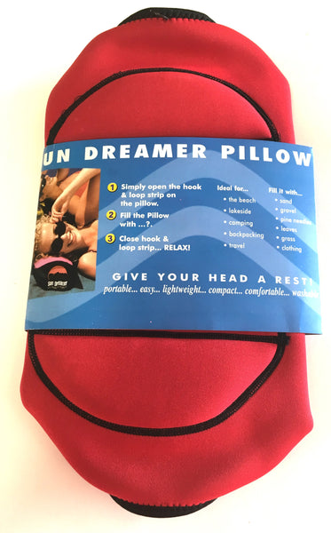 Beach Pillow Sun Dreamer (Red)