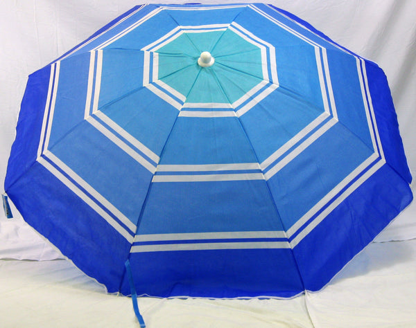 6' Umbrella Blue striped from George J. Marshal