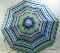 6' Beach Umbrella Brighton Beach Island Shade Umbrella from WET Products