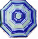 3' Beach Umbrella Clamp on Umbrella with Tilt Brighton Beach by Wet Products