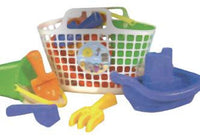 Sand castle basket set