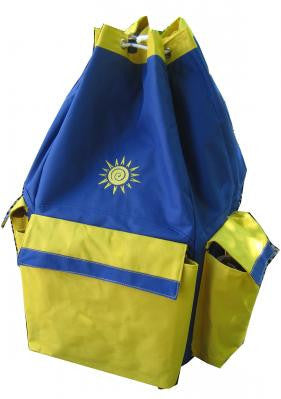 OBH Beach Pack Blue/Yellow