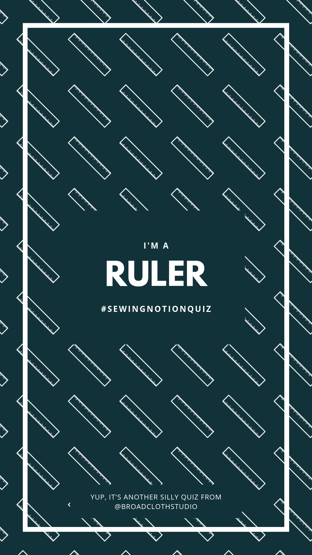 broadcloth studio sewing notions quiz ig story ruler