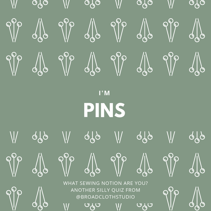 broadcloth studio sewing notions quiz pins