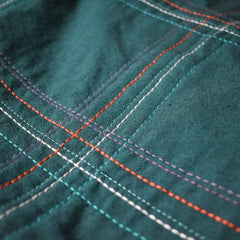 Broadcloth Studio Wholecloth Plaid Quilt Texture