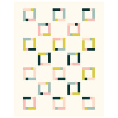 Feature Frames Quilt Pattern Checkerboard
