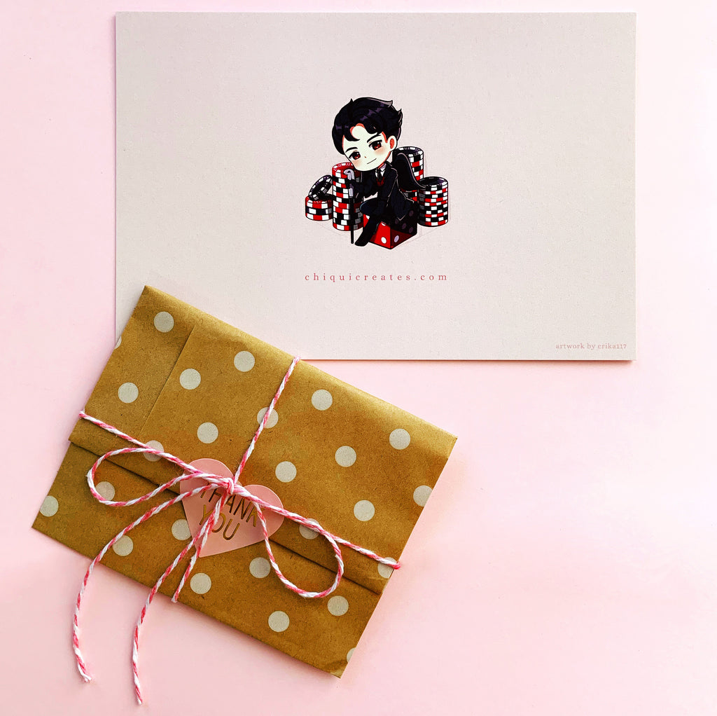 Chiqui Creates Cute Etsy Online Business Packaging