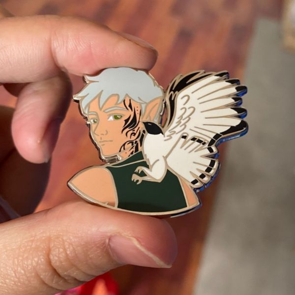 Rowan Whitethorn Enamel Pin