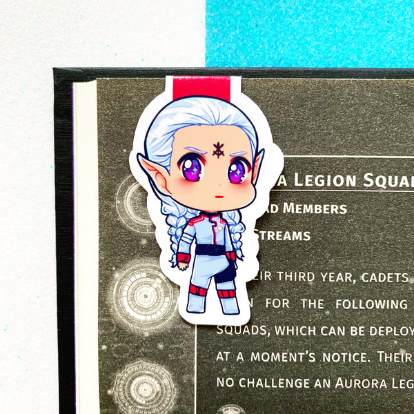 SEMI-GLOSS The Squad Chibi Magnetic Bookmarks