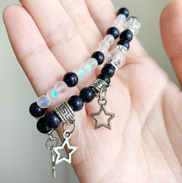 High Lady of the Night Court Beaded Stretch Bracelet Set