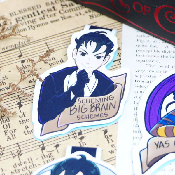Grishaverse Meme Energy Magnetic Bookmarks