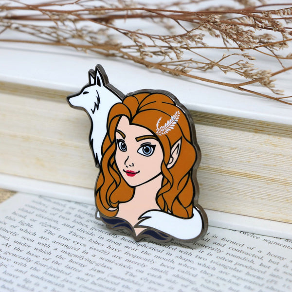 Feyre Archeron ACOTAR Hard Enamel Pin (discount codes not applicable)