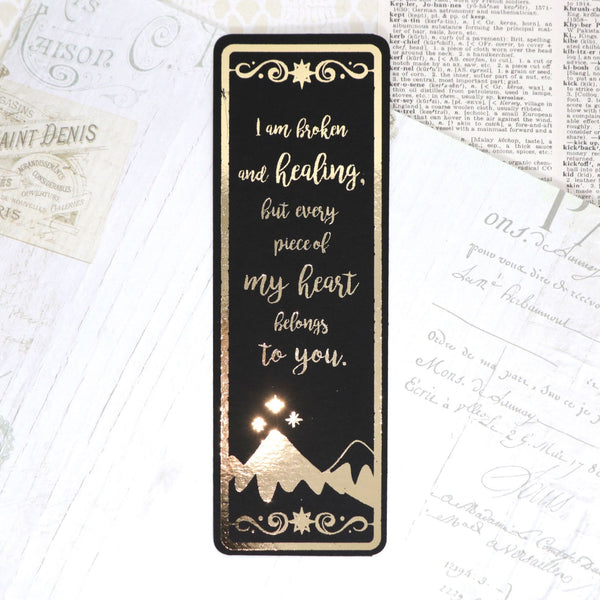 A Court of Thorns and Roses Series Foil Bookmarks