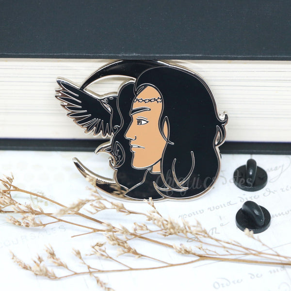 Crescent City Hunt Athalar Hard Enamel Pin (discount codes not applicable)