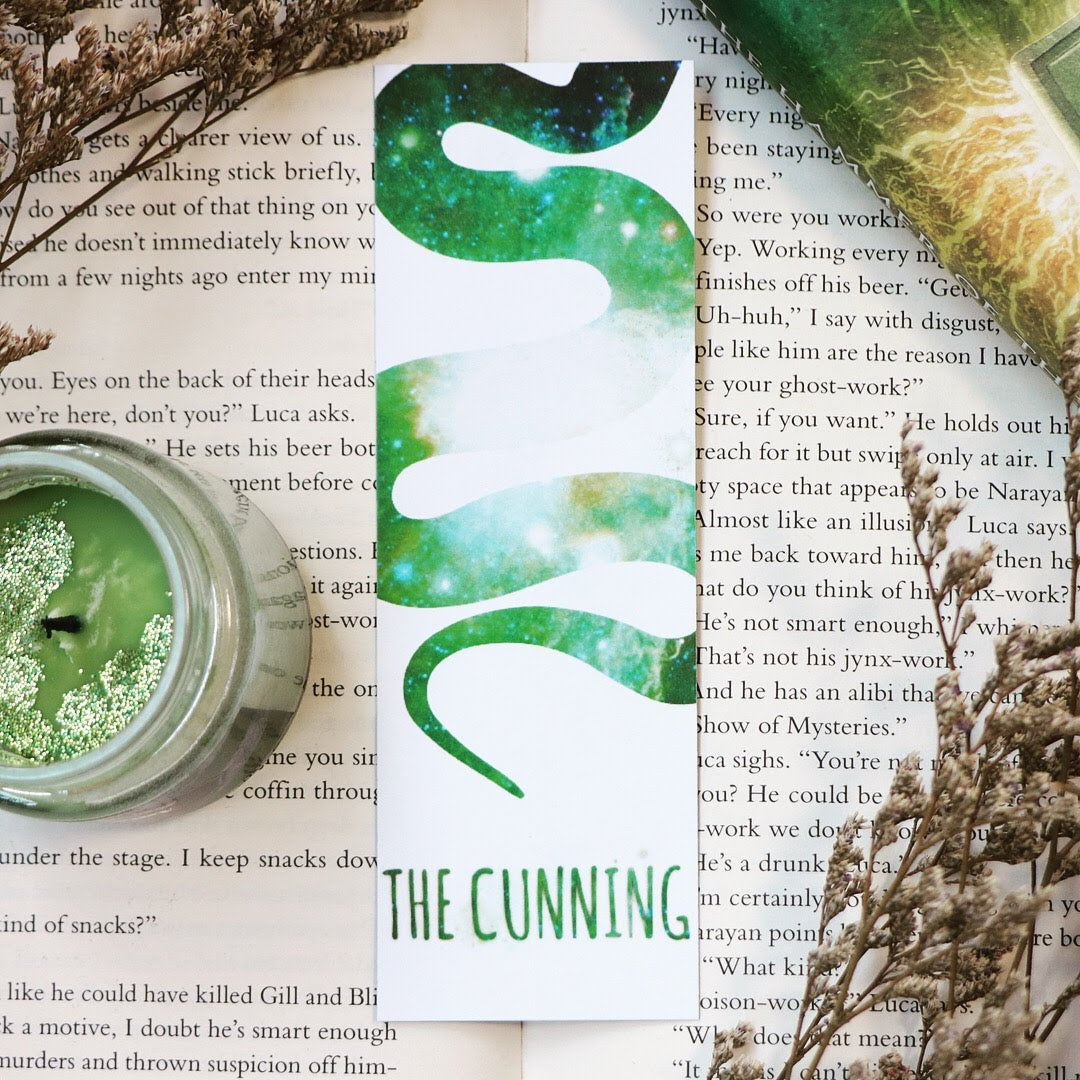 House of the Cunning 3-Layer, Double-Sided Bookmark