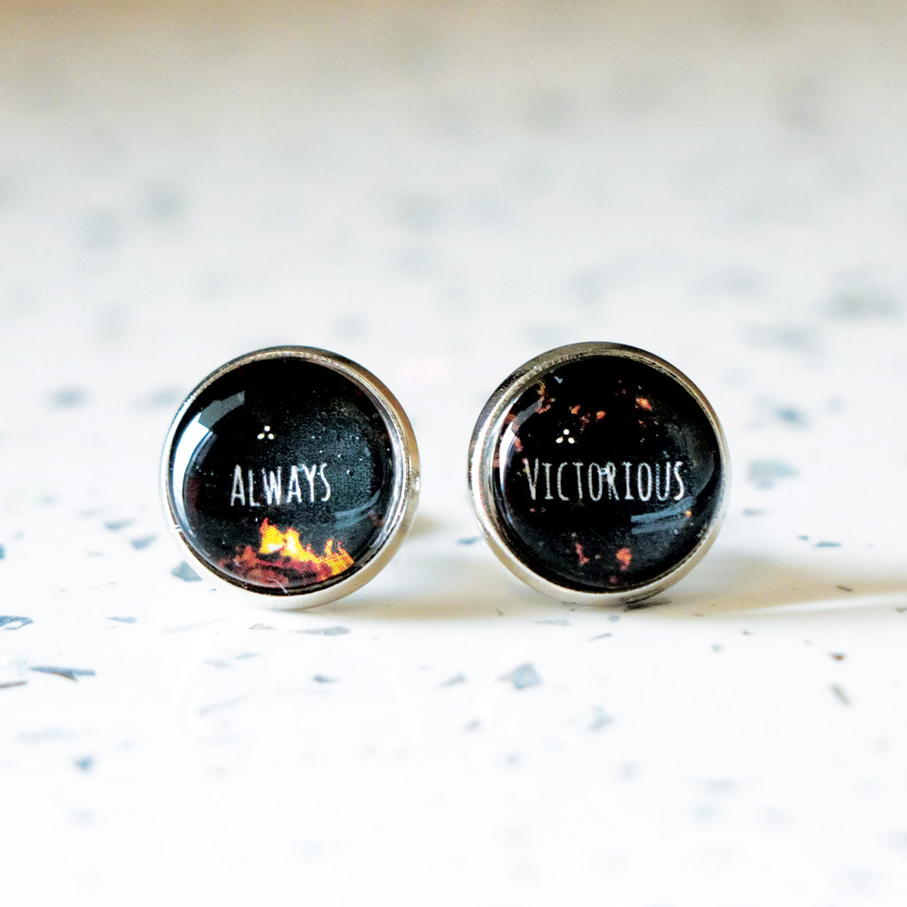 "AEITA Elias Veturius ""Always Victorious"" Earrings"