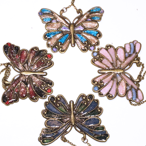 Custom Butterfly Necklace