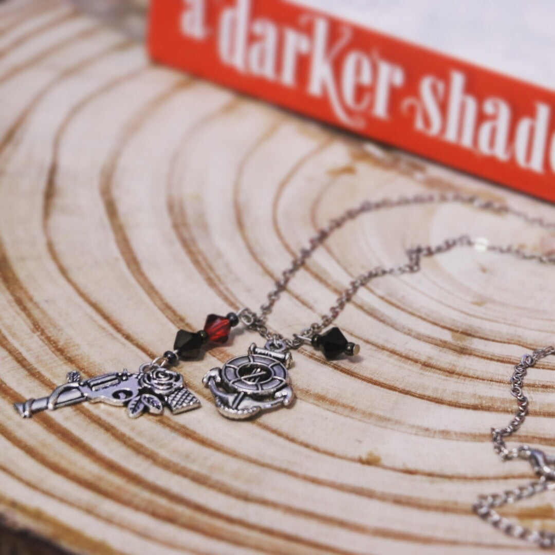 ADSOM Lila Bard Silver Necklace