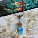 Percy Jackson Glow in the Dark Seashell Necklace