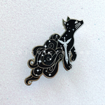 Nevernight Mr. Kindly Glitter Enamel Pin
