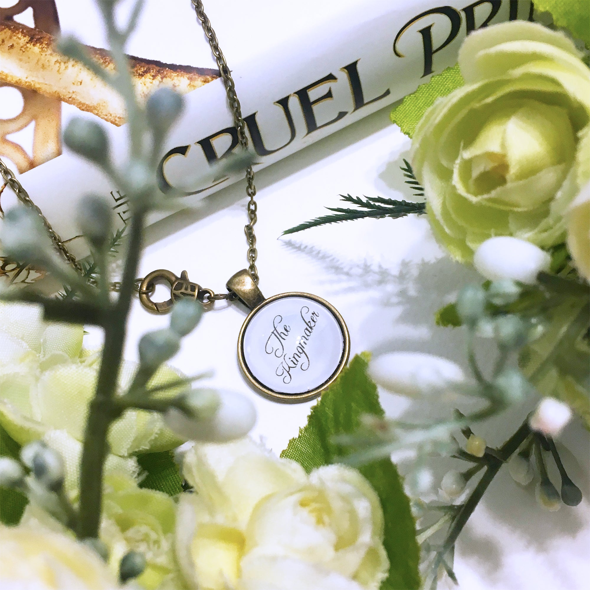 "The Cruel Prince ""The Kingmaker"" Necklace"