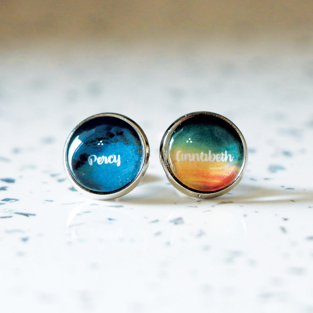 Percy Jackson/Annabeth Chase (Percabeth) Earrings