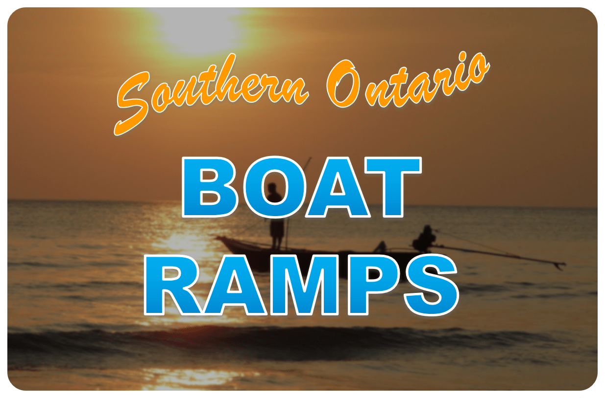 Fishing World has organized boat ramps all across Southern Ontario into one map to help you get your fishing adventure started!