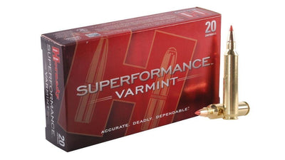 HORNADY 204 RUGER 32 GR V HORNADY SUPERFORMANCE 204 32 GRAIN VMAX