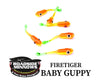 "ROADSIDE MINNOWS 1.15"" BABY GUPPY FIRETIGER Roadside Minnows 1.15"" Baby Guppy"