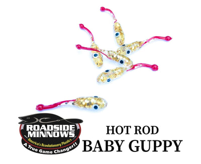 "ROADSIDE MINNOWS 1.15"" BABY GUPPY HOT ROD Roadside Minnows 1.15"" Baby Guppy"
