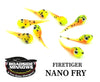 "ROADSIDE MINNOWS 1"" NANO FRY FIRETIGER Roadside Minnows 1"" Nano Fry"