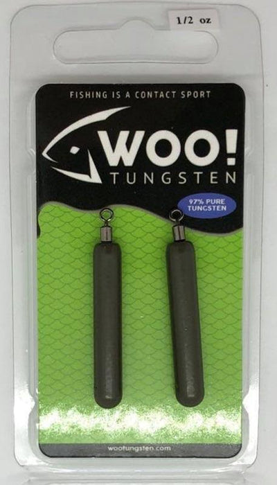 WOO TUNGSTEN DROP SHOT CYLINDER Woo Tungsten Cylinder Drop Shot Weights