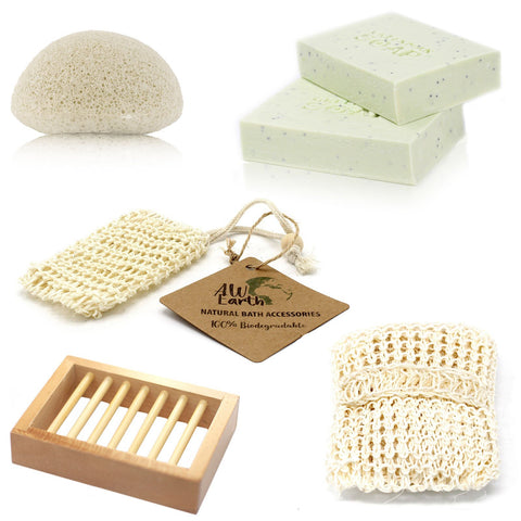 Soap, Sponge and Scrub Bundle - The Soap Boutique Uk
