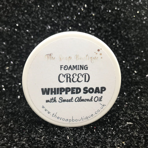 CREED SHOWER FLUFF WHIPPED SOAP - The Soap Boutique Uk