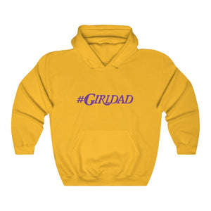 #GirlDad Unisex Heavy Blend™ Hooded Sweatshirt