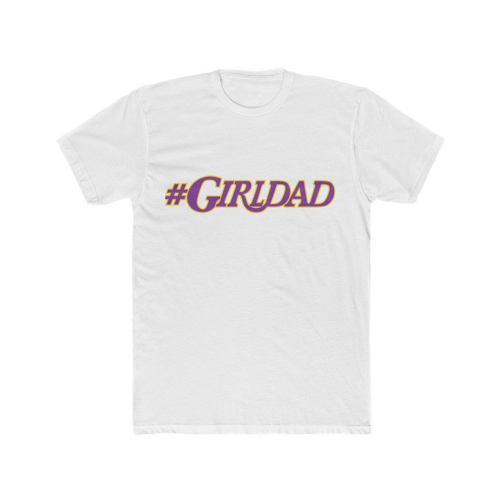 Copy of #Girldad Men's Cotton Crew Tee