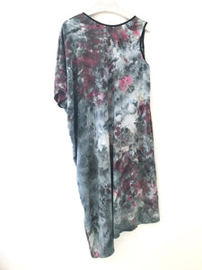 hand dyed one-of-a-kind silk dress