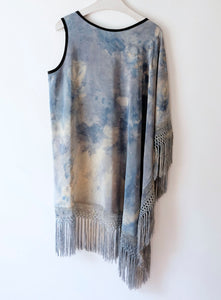 Blue Skies Fringe Tunic