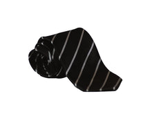 Load image into Gallery viewer, Classic Tie 012 (Black-striped)