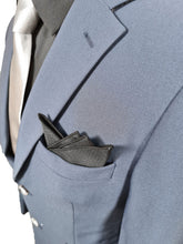 Load image into Gallery viewer, Simple Plain Black Pocket Square 014