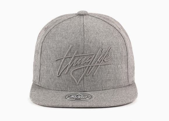'Thug Life' cap (Light Grey)